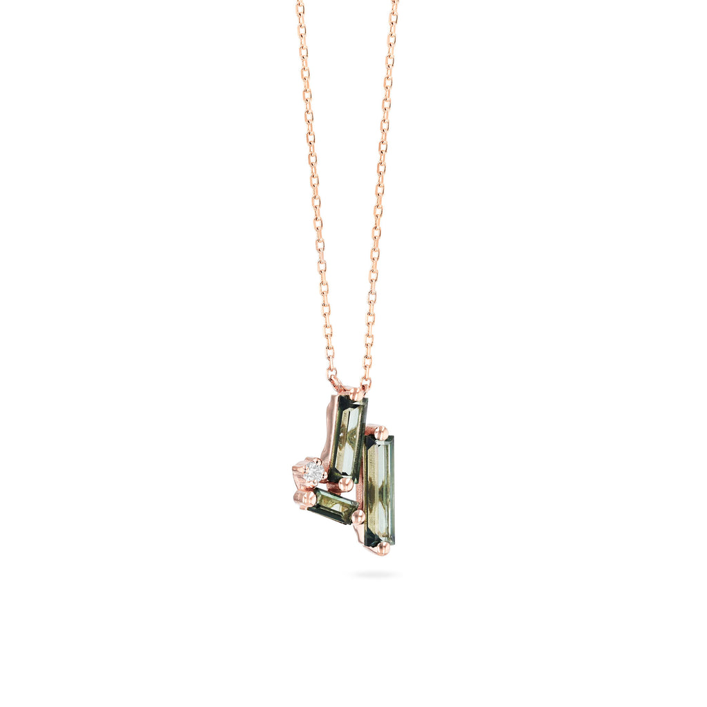 MILOS GREEN ENVY TOPAZ NECKLACE