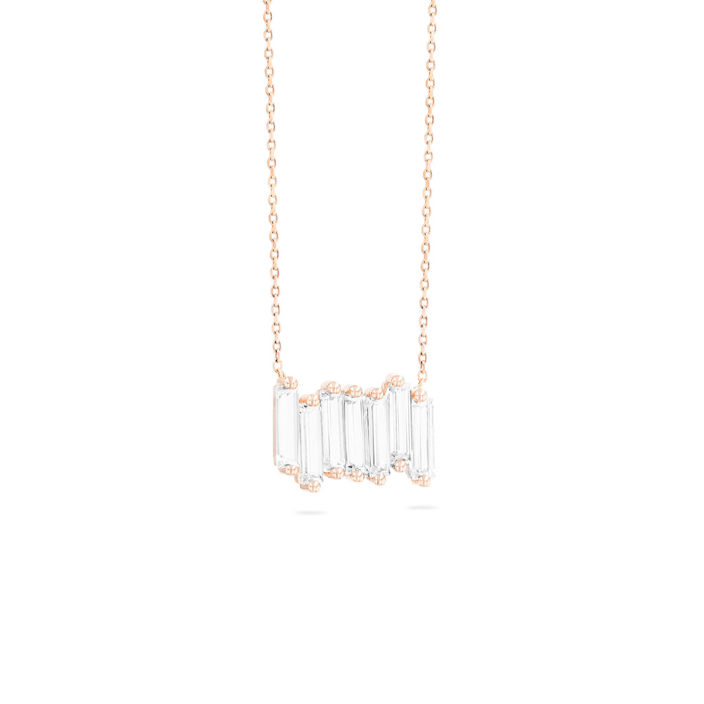SADIE WHITE TOPAZ NECKLACE