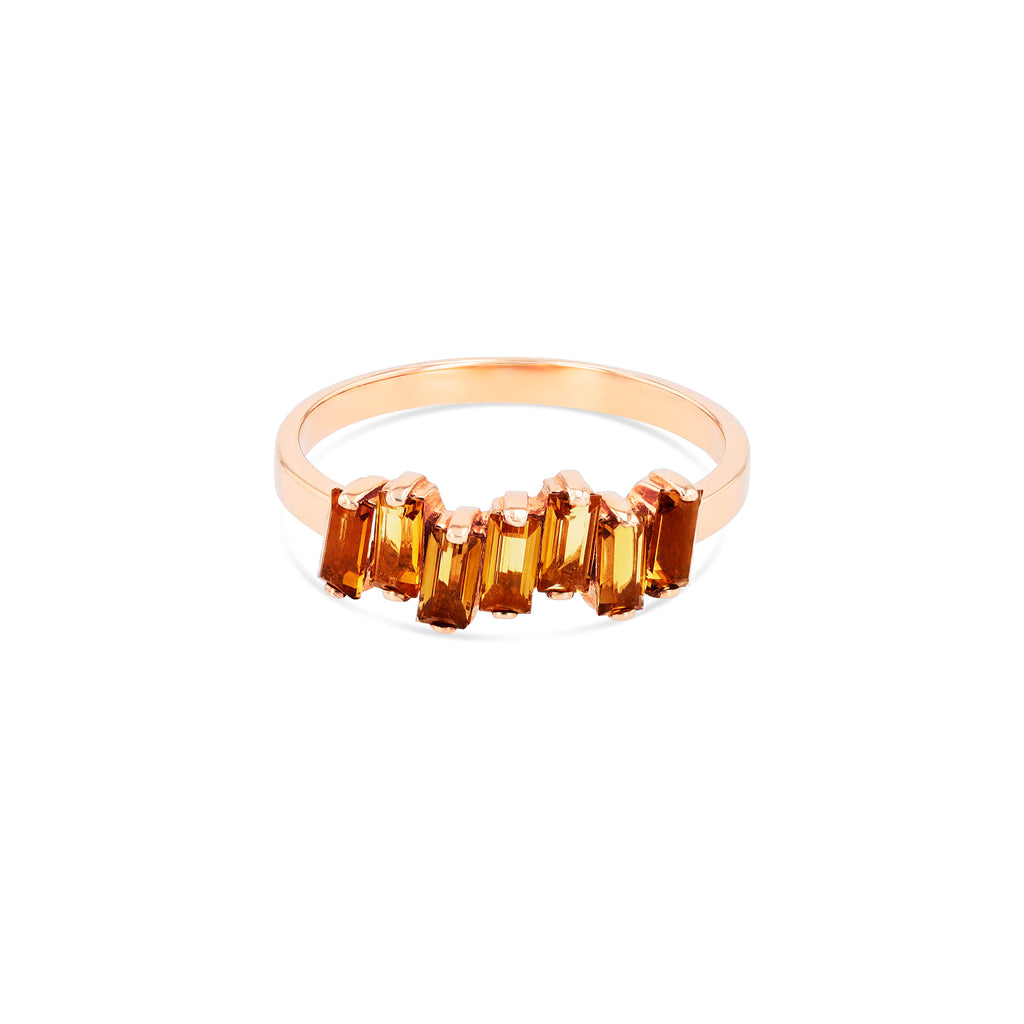CITRINE AMALFI WAVE BAND