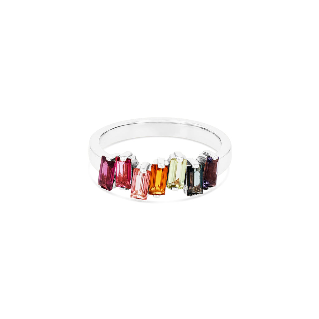 RAINBOW AMALFI WAVE BAND