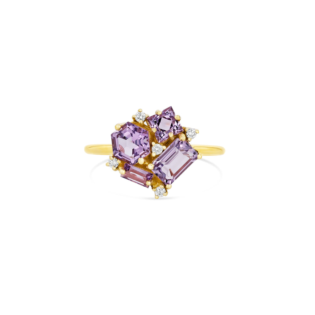 ROSE DE FRANCE BLOSSOM RING