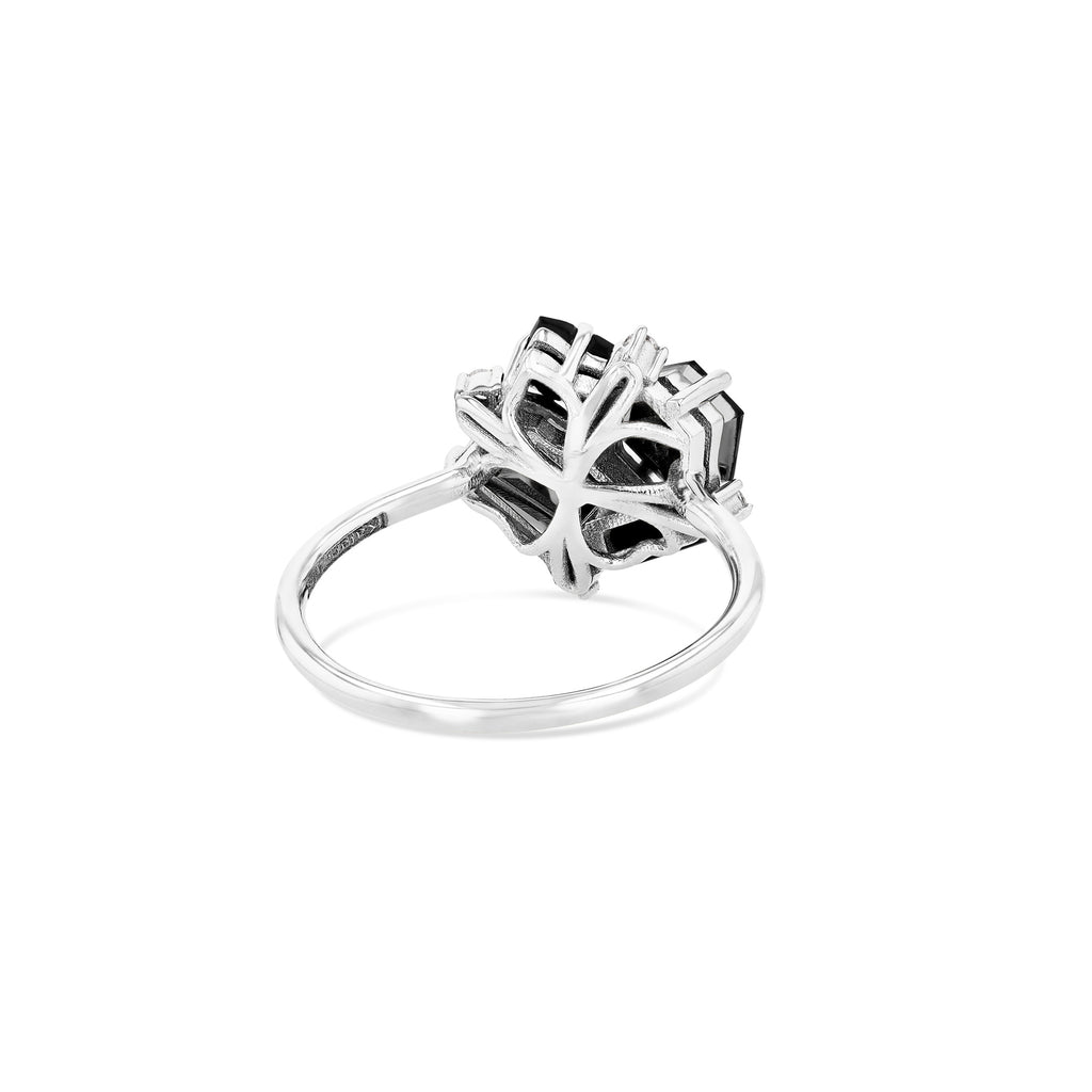 DARK MIX BLOSSOM RING
