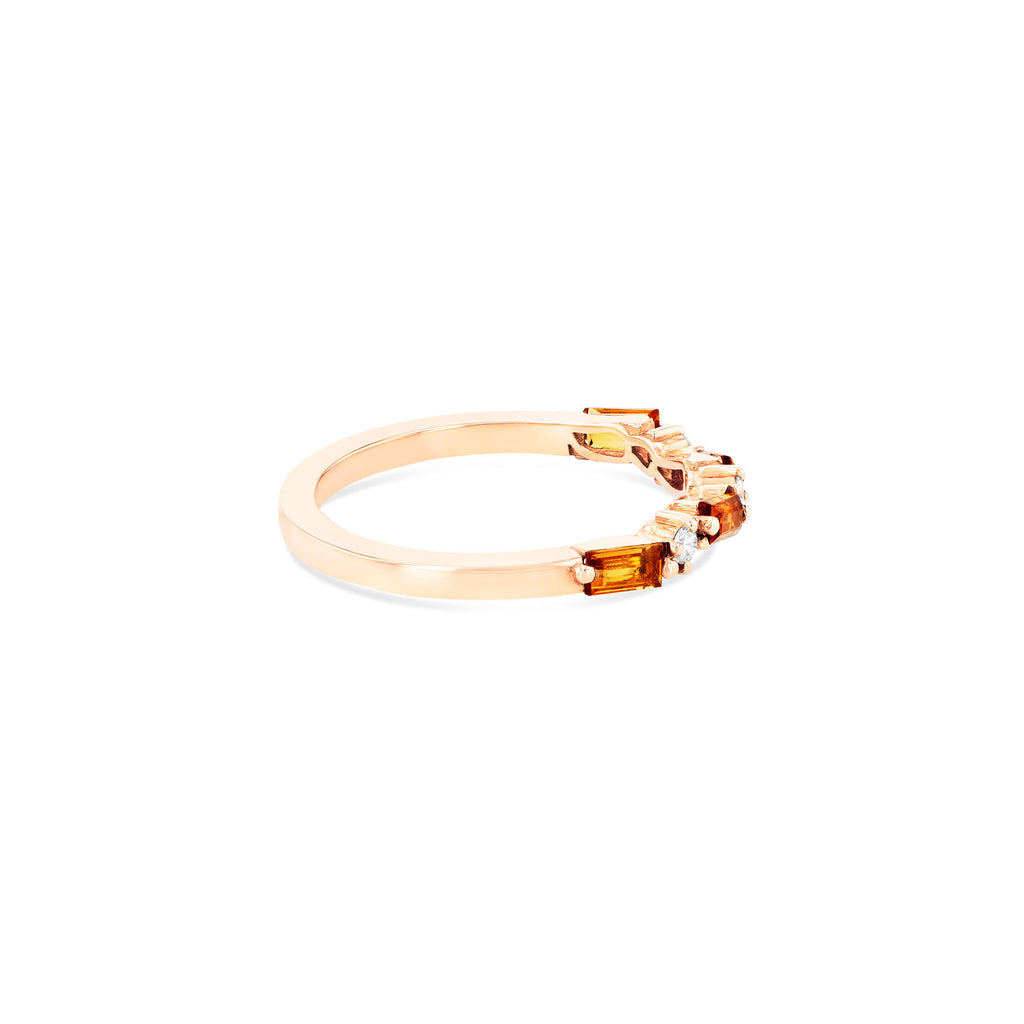RAVELLO CITRINE RING