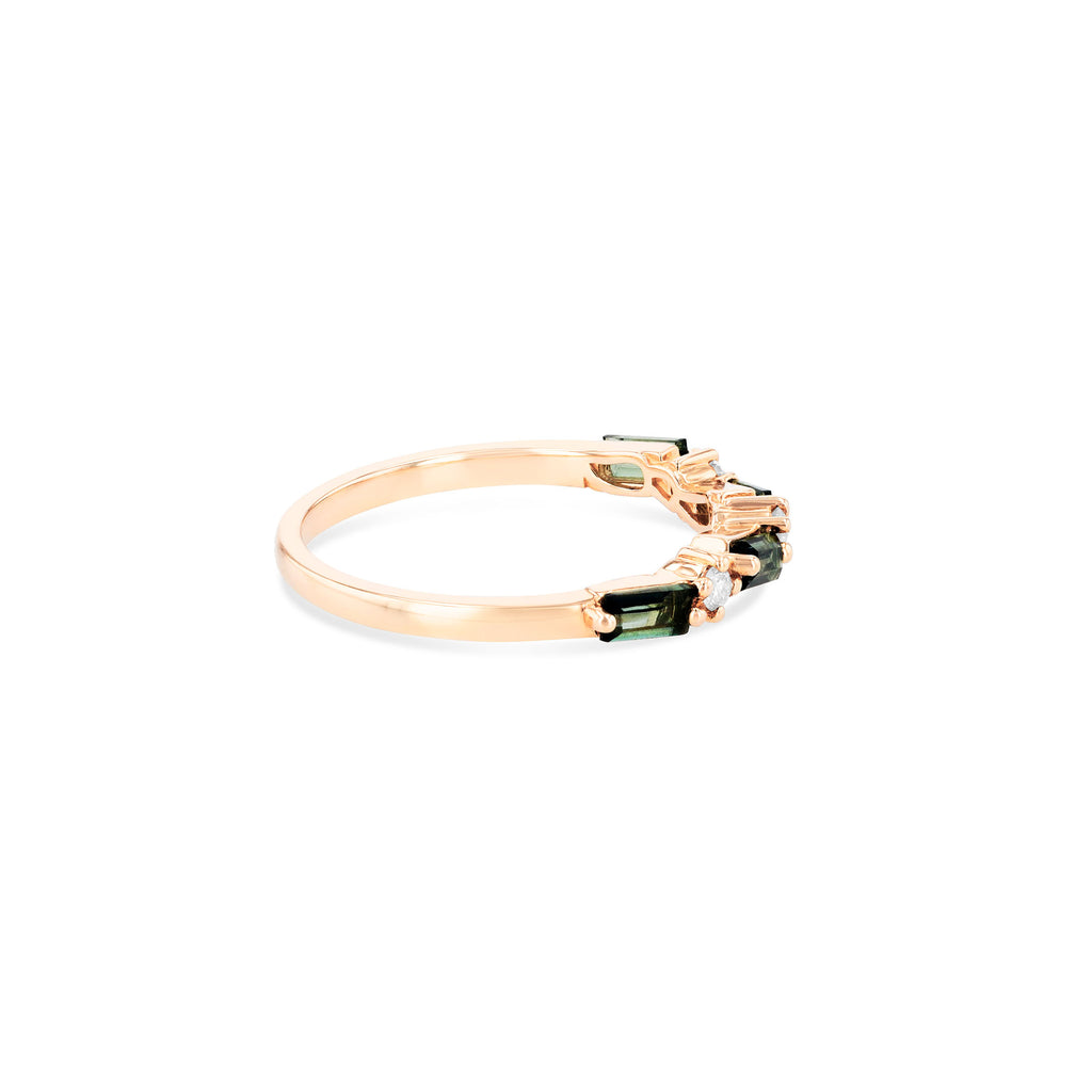 RAVELLO GREEN ENVY TOPAZ RING