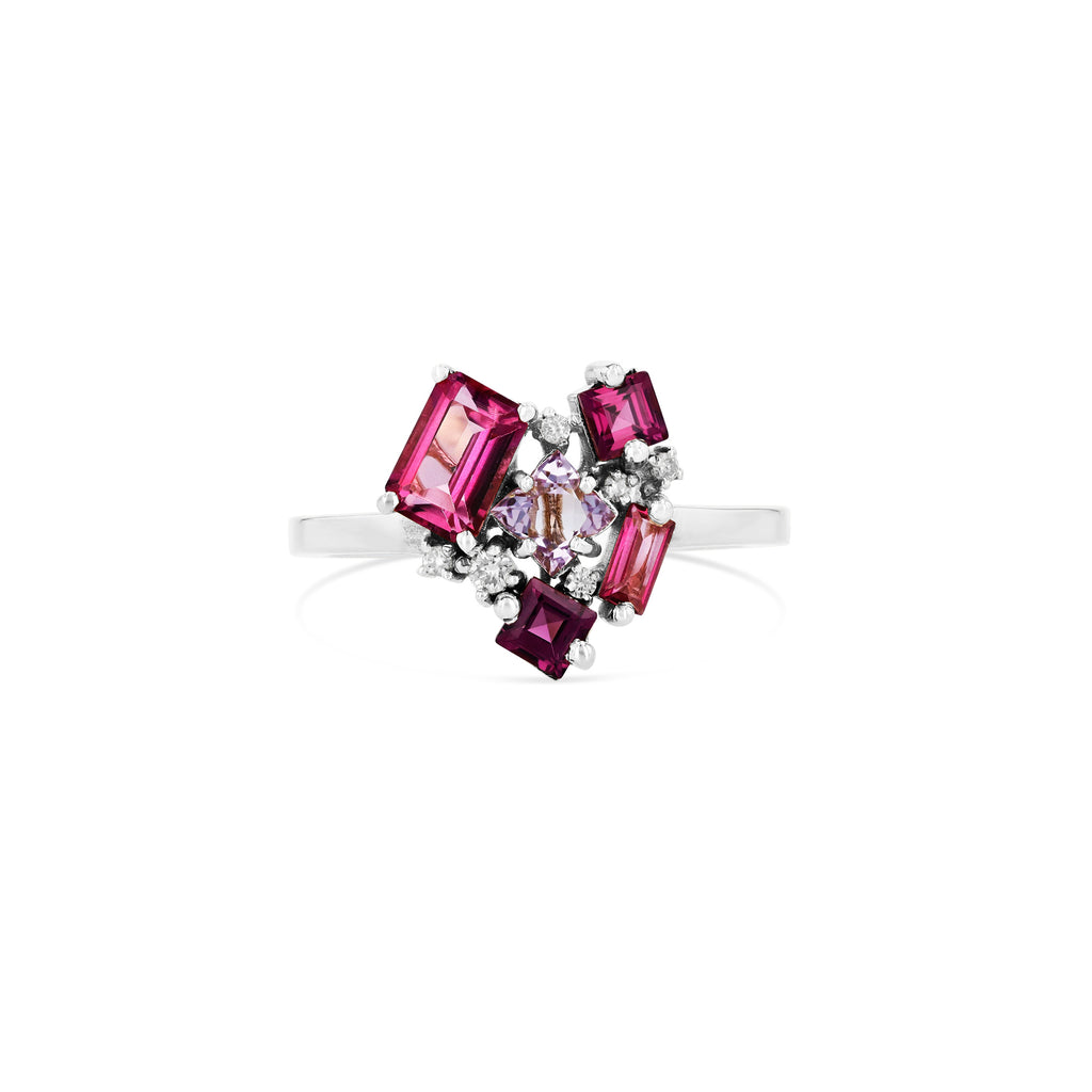 PINK MIX LOVE RING