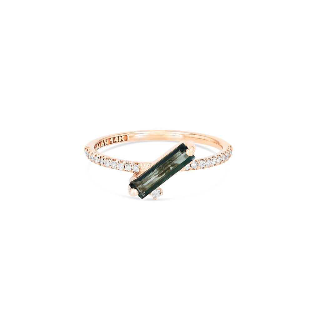 NAXOS GREEN ENVY TOPAZ RING