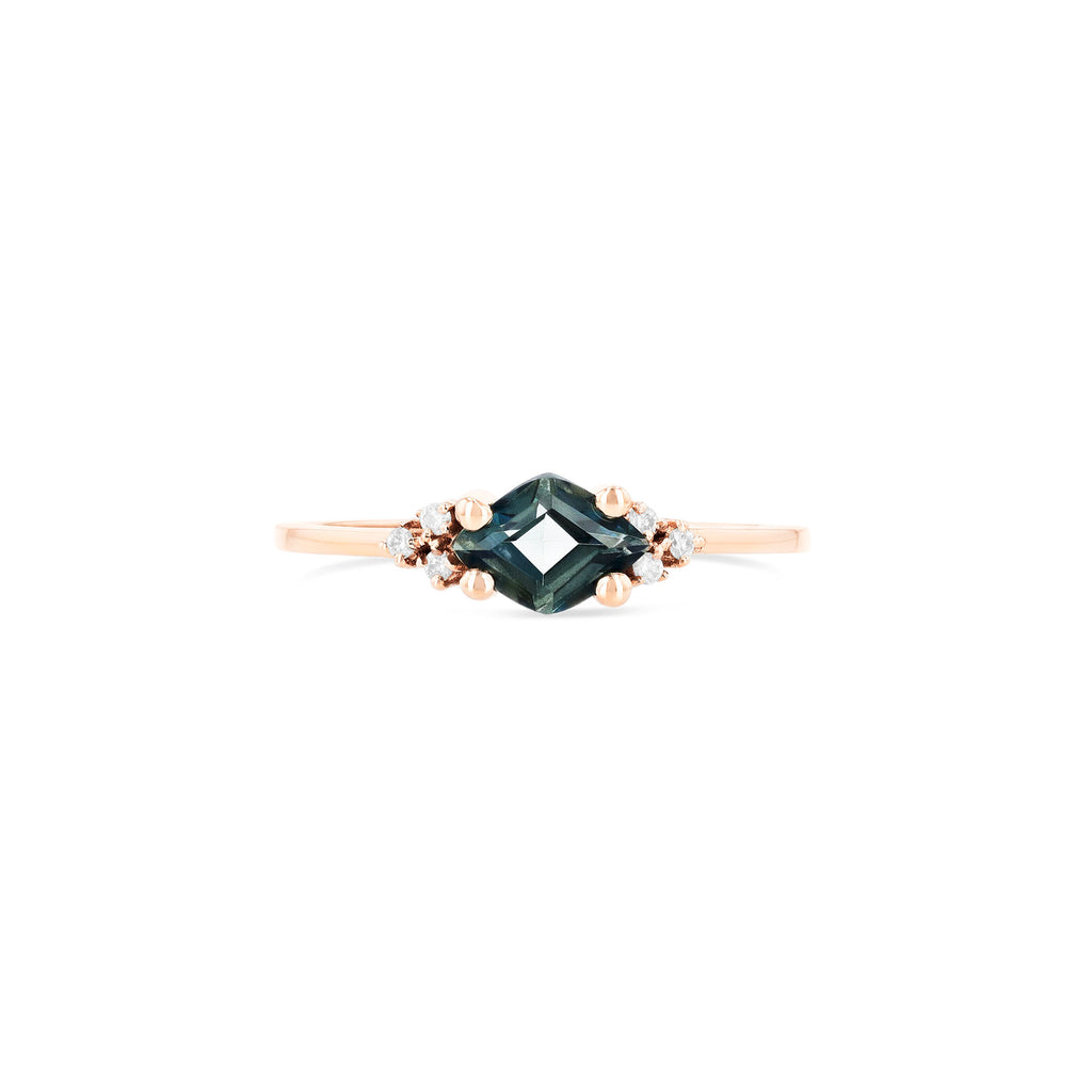 ANA GREEN ENVY TOPAZ RING
