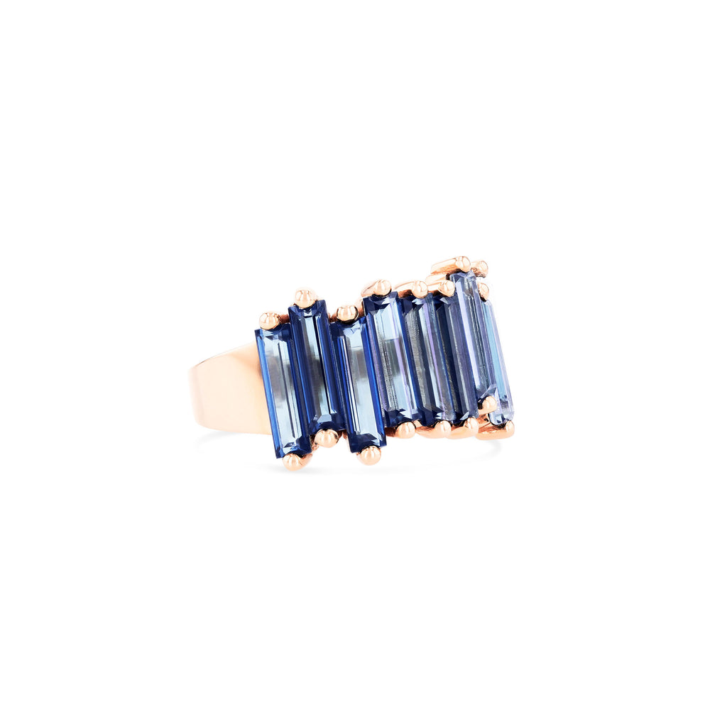 SADIE ENGLISH BLUE TOPAZ BAND