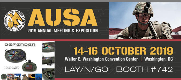 AUSA Army Show - Booth 742 - Lay-n-Go DEFENDER