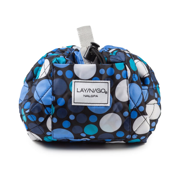 "Lay-n-Go NAILSPA (18"") : ""Dot Calm"" (Blue Polka Dot)"