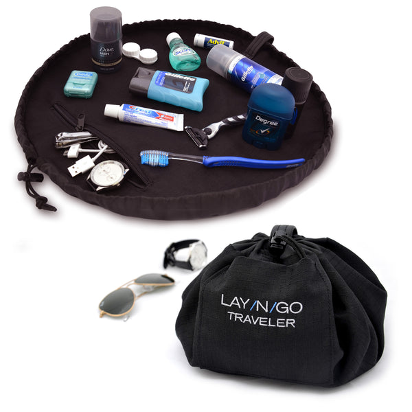 "Lay-n-Go TRAVELER (20"") : Black"