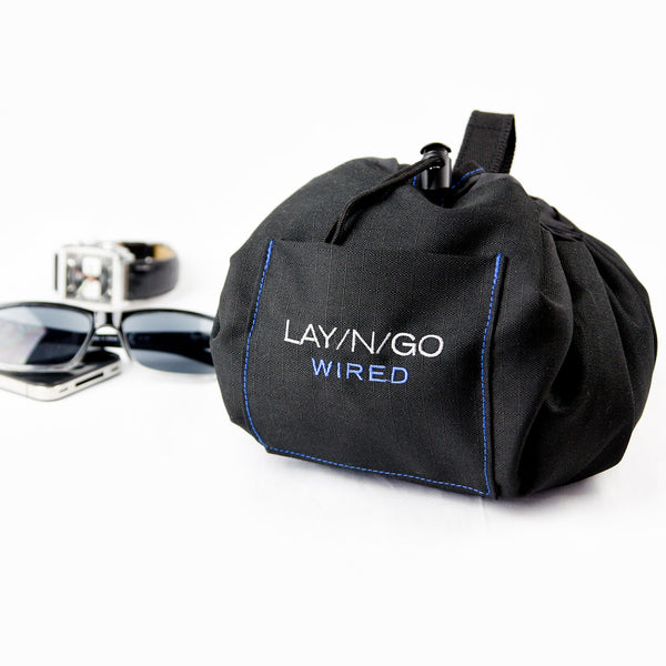 "Lay-n-Go WIRED (19"") : Blue Accent"
