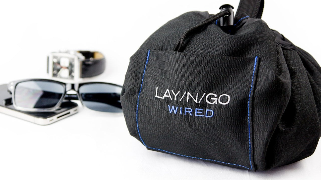 Lay-n-Go COSMO.  The patented cosmetic bag that changed it all!