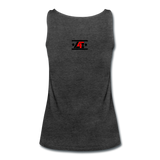 """LIVE4IRON"" Women's Premium Tank Top - charcoal gray"