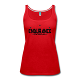 Women's Premium Tank Top - red
