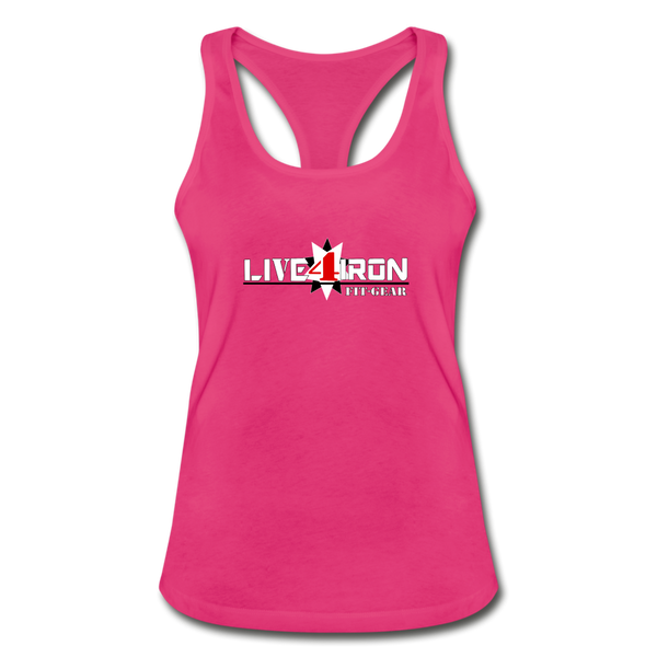 Women's Racerback Tank Top - hot pink