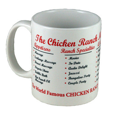 Menu Coffee Mug