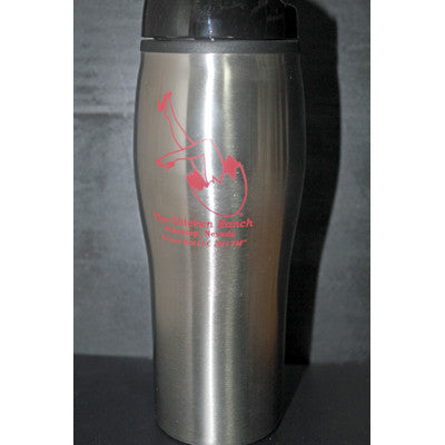 Thermal Silver Coffee Mug