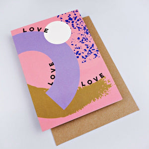 The Completist Greeting Card - Love