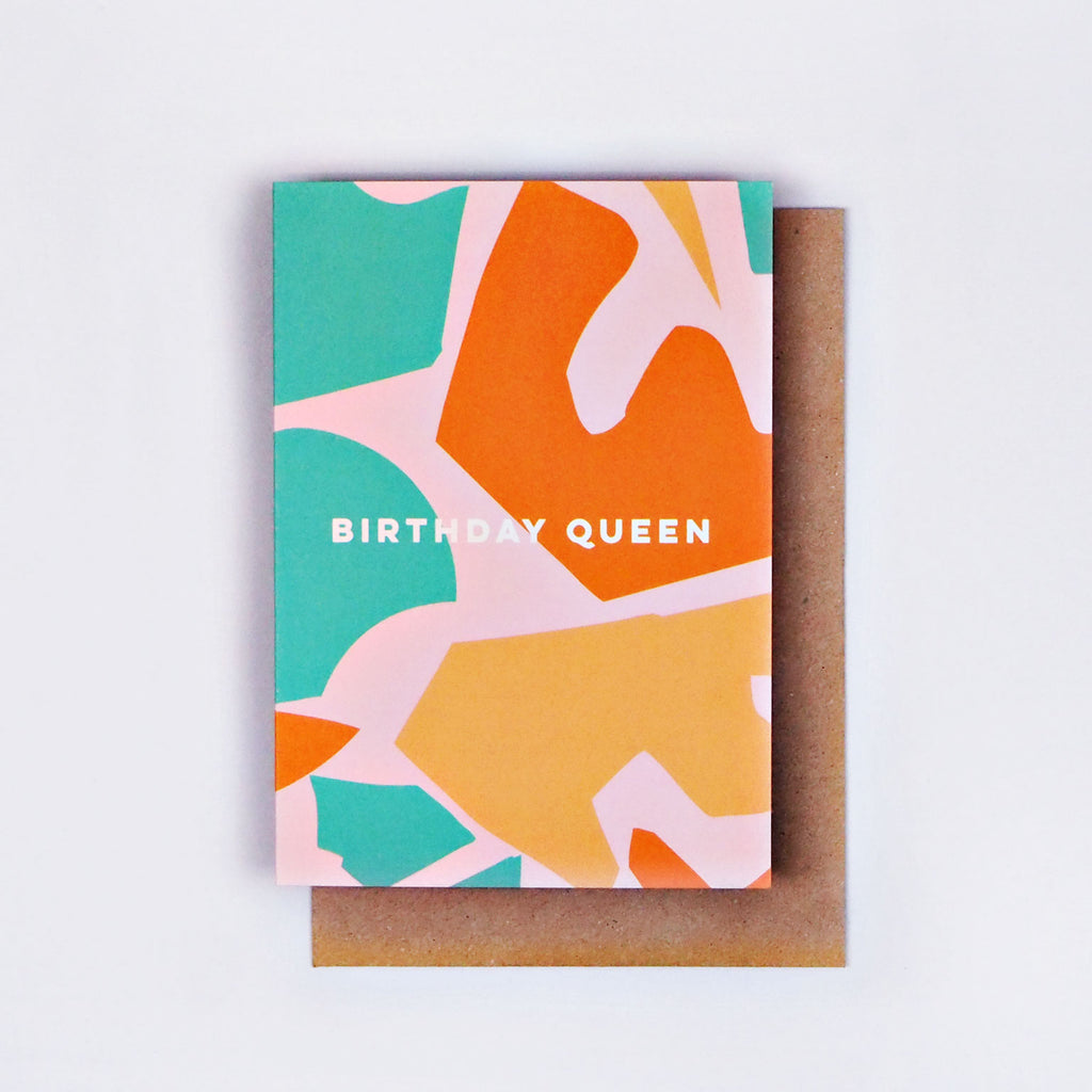 The Completist | The Completist Greeting Card - Birthday Queen | Gift - Greeting Cards | Phoenix General Store