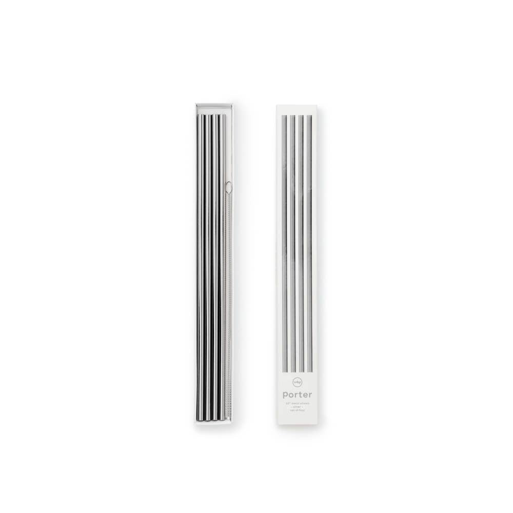 "w&p Porter Straws 10"" - Set of 4"