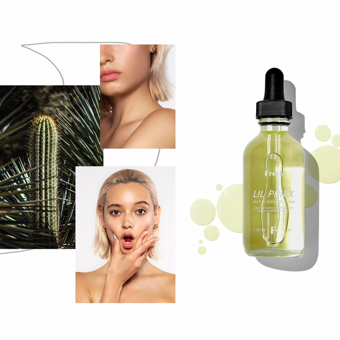 Freck | Freck Lil Prick - Cactus Seed Dry Serum | Bath/Beauty - Face Oil | Phoenix General Store