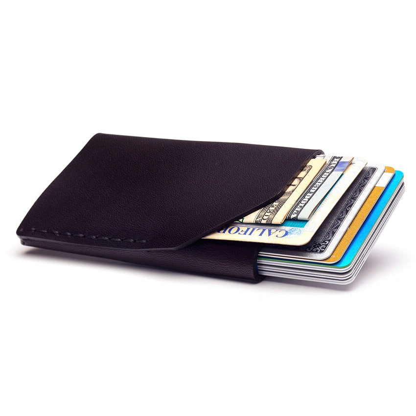 Ezra Arthur | Ezra Arthur No. 2 Wallet - Jet Black | Men's Accessories - Wallets | Phoenix General Store