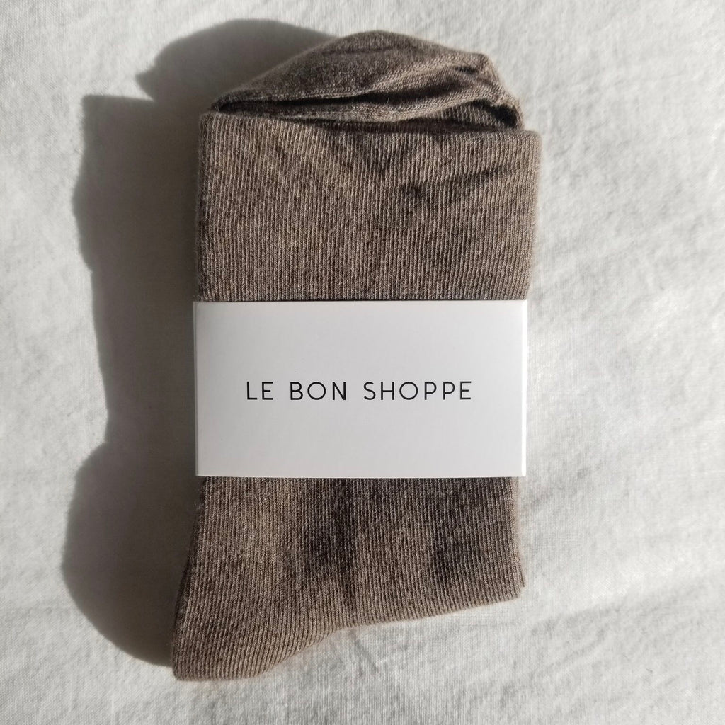 Le Bon Shoppe | Le Bon Shoppe Sneaker Sock - Ht. Cocoa | Women's Accessories - Socks | Phoenix General Store