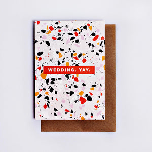 The Completist | The Completist Greeting Card - Wedding Yay | Gift - Greeting Cards | Phoenix General Store