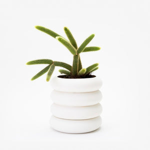 Areaware Stacking Planter - Tall White