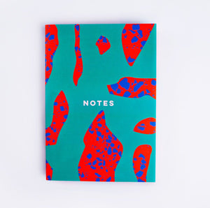 The Completist Premium Notebook - Terrazzo Shapes