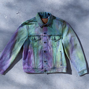 PHX GEN x DEVI DASI Upcycled Series - Levi's Denim Jacket Size Small #1