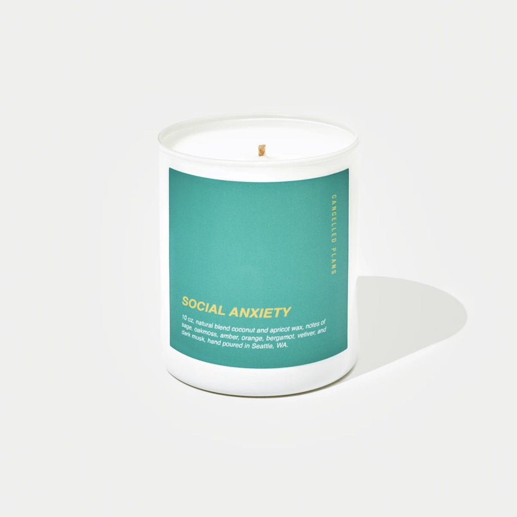 Cancelled Plans Candles - Social Anxiety