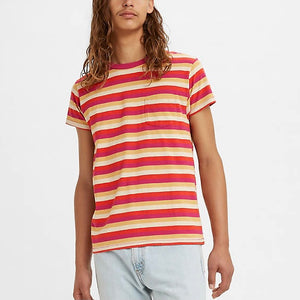Levi's Vintage Clothing 1950s Sportswear Tee - Red Stripe