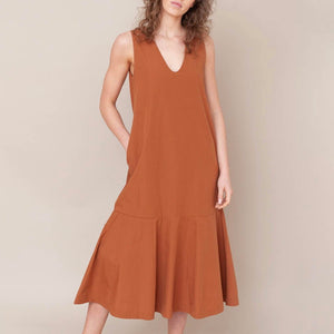 Beaumont Organic Madelyn Dress - Coffee