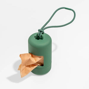 Wild One Poop Bag Carrier - Spruce