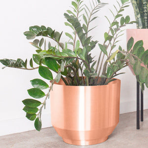 Yield 16 Spun Planter - Copper