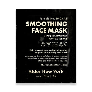 Alder New York | Alder New York Single Face Mask - Smoothing | Bath/Beauty - Mask | Phoenix General Store