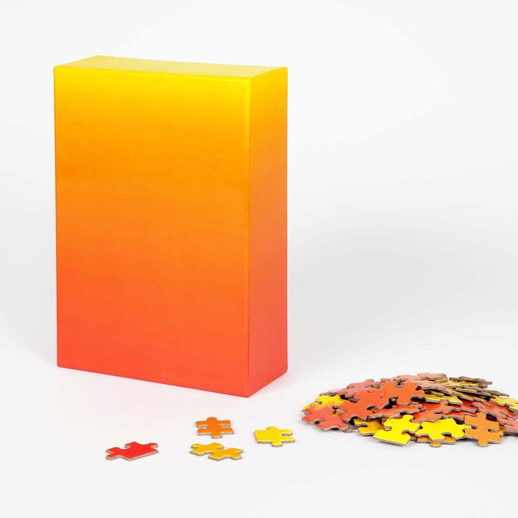 Areaware | Areaware Gradient Puzzle - Red & Yellow | Gift - Puzzles | Phoenix General Store
