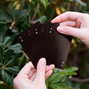 Areaware | Areaware Minim Cards - Black | Gift - Playing Cards | Phoenix General Store