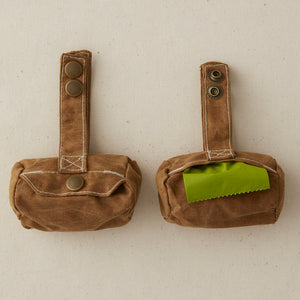 Billy Wolf | Billy Wolf Poopbag Holder - Brown | Home & Gift - Pet Supplies | Phoenix General Store