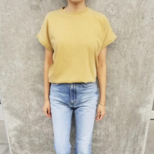 Le Bon Shoppe Ease Tee - Butterscotch