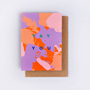 The Completist Greeting Card - Yay You