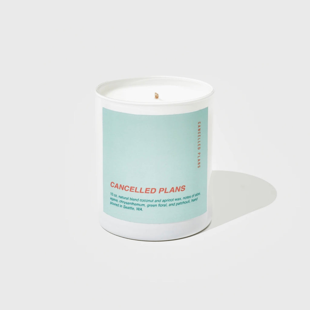 Cancelled Plans Candles - Cancelled Plans