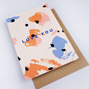 The Completist Greeting Card - Love You