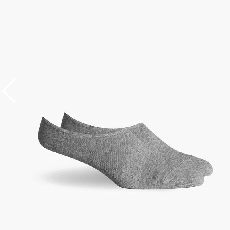 Richer Poorer | Richer Poorer No Show Socks - Heather Grey | Men's Accessories - Socks | Phoenix General Store
