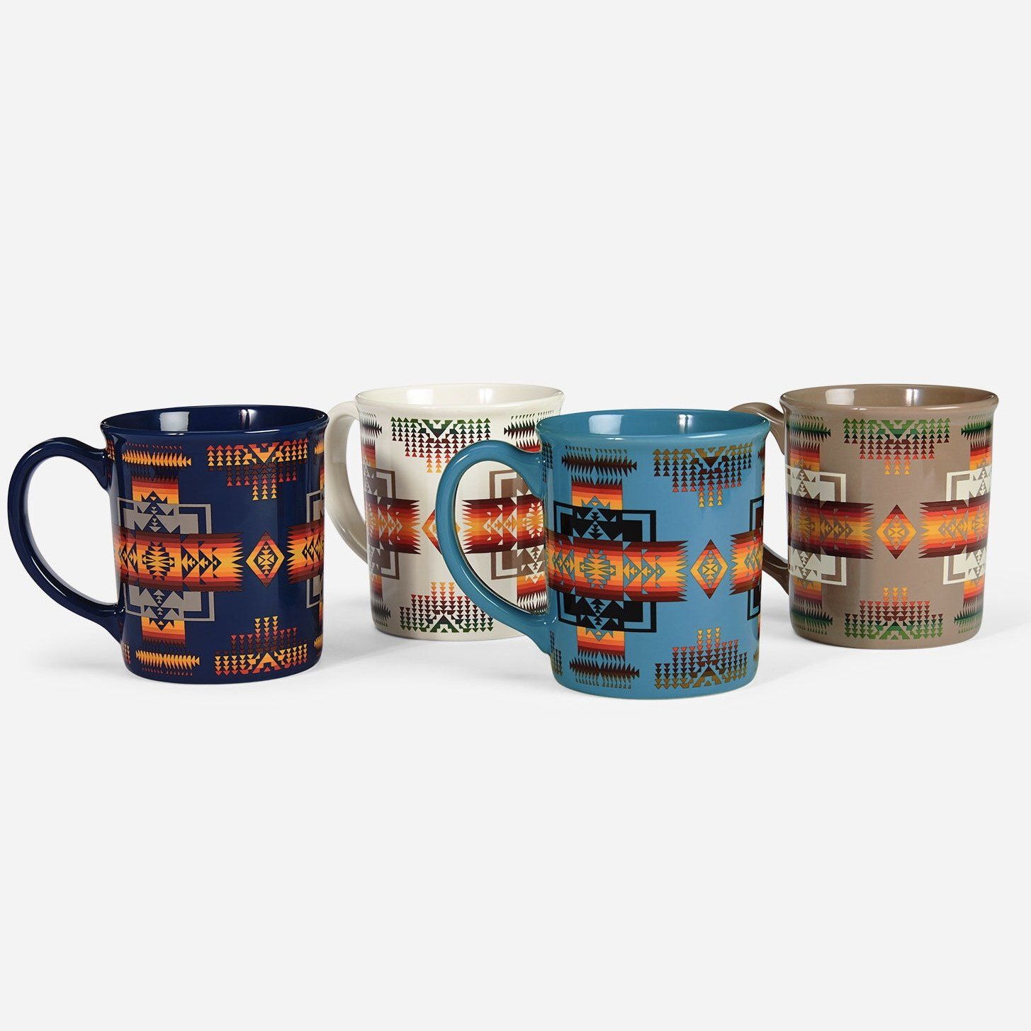 Pendleton Coffee Mug - Chief Joseph Set of 4
