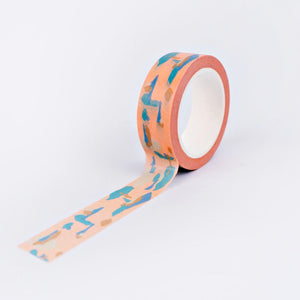 The Completist Washi Tape - Lava