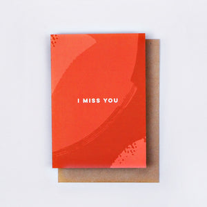 The Completist | The Completist Greeting Card - I Miss You | Gift - Greeting Cards | Phoenix General Store