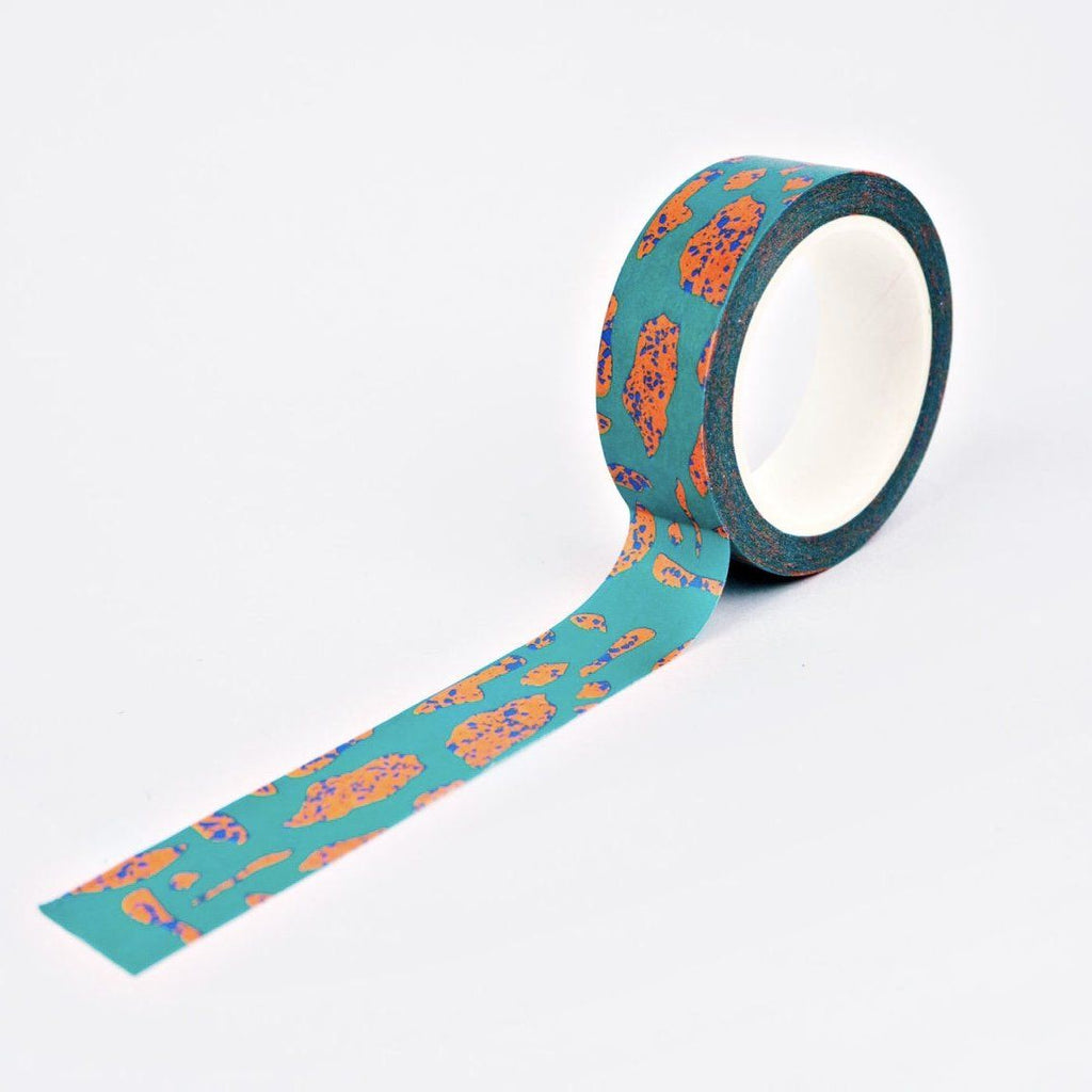 The Completist Washi Tape - Terrazzo Shapes
